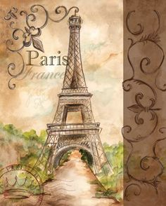 RB1775 Landmark Paris 20x16: