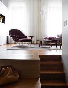 A 70s Condo Becomes a Modern NYC Apartment with a Sleeping Loft - Design Milk