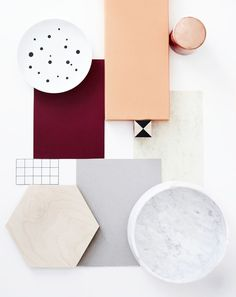 This moodboard and colour palette is a beautiful selection and perfect for my project. Colour Schemes, Color Combos, Textures Patterns, Color Patterns, Pantone, Casa Retro, Material Board, Blog Deco, Colour Board