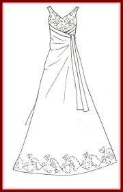 Resultado De Imagem Para Barbie Wedding Dress Pattern Vestidos