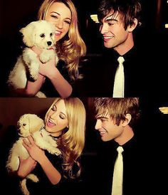 (1) gossip girl | serena and nate