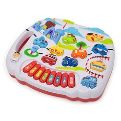 Electronic Learning City Traffic Toy  Babies  Toddlers  Preschool  Lights and Sweet Melodies