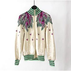 04e30ab27ca Gucci Embroidered sequin jacket 515098