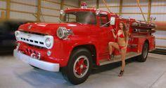 1957 Ford  fire truck / pumper