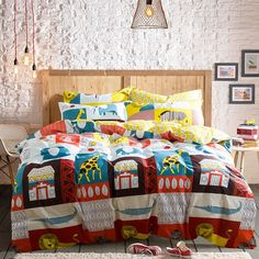 Mumgo Home Textile Bedding Set for Kids Adult Animal Pattern Duvet Cover