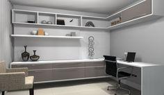 Home Office #promob #interiordesign #CamilaLeite