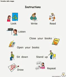 Paradiso delle mappe: Inglese English Time, English Book, English Words, English Lessons, English Language, Lessons For Kids, Kindergarten Math, Teaching English, Stand Up