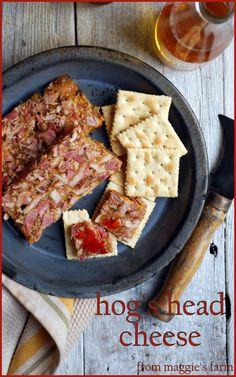charcuterie & the ark of taste: hog's head cheese