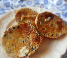 This is this the real English tea cake! Toasted with butter, who would have known, nothing fancy but they are so good!