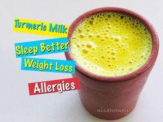 How To Make Turmeric Milk - Golden Milk Recipe - Haldi Doodh #QuickWeightLoss #SleepBetter #nisahomey #LoseWeightFast #FlatBelly #weightloss #turmericmilk #turmeric #milk #golden #goldenmilk
