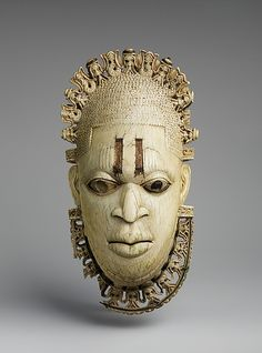 Queen Mother Pendant Mask: Iyoba  Benin Empire, 16th century  The Metropolitan Museum of Art