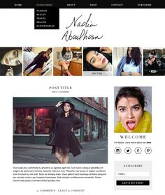 Branding + Blog Design for Nadia Aboulhosn - The Nectar Collective
