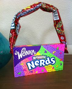 Favors for a NERD-themed party. Perfect 'purses' fof a bunch of pre-teen girls.
