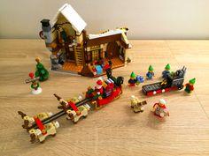 LEGO 10245 CREATOR Werkplaats van de Kerstman Geniet van de magische kerstsfeer met de Kerstmans werkplaats set, een feestelijke toevoeging aan de LEGO® Winterdorp serie!  De elfjes maken speelgoed in de fabriek, geven de rendieren te eten en helpen de Kerstman bij het volladen van zijn magische slee. Het Kerstvrouwtje bakt koekjes en de klok geeft aan dat het bijna tijd is om alle cadeautjes te gaan bezorgen - de mooiste tijd van het jaar! www.lego.com