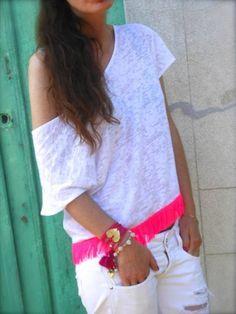 Ibiza Passion, Idea Outfit Bianco E Rosa