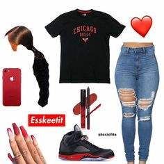 Clueless Outfits, Baddie Outfits Casual, Boujee Outfits, Swag Outfits For Girls, Teenage Girl Outfits, Cute Swag Outfits, Cute Comfy Outfits, Teenager Outfits, Teen Fashion Outfits