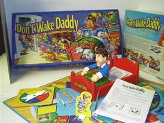 "Never had the game, but loved the theme song ""Don't. Wake. Daddy! From Parker-Brothers!"" #90s"
