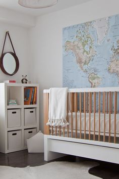 maps for kids room...all about maps...love!