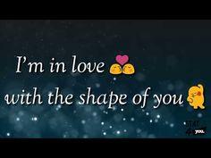 Shape of You Romantic Gif, Romantic Status, Romantic Songs Video, Whatsapp Emotional Status, Love Status Whatsapp, Shape Of You Song, Tamil Video Songs, Sad Love Stories, Comedy Song