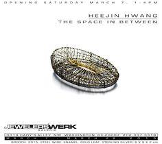 The space in between by Heejin Hwang Exhibition  / 07Mar2015 - 28Mar2015 Jewelers' Werk Galerie Washington DC, United States