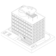 11 Stunning Axonometric Drawings of Iconic Chilean Architecture