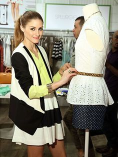 """Olivia Palermo On Pairing Zara With Cavalli, Being """"Over"""" Sneaker Wedges #Refinery29"""