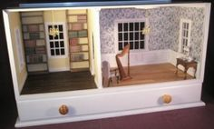 Steve Harvey Miniatures - Room Boxes - Marx Presidents - Reviewing ...