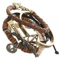 Harry Potter Bracelet Set ❤ liked on Polyvore featuring jewelry and bracelets