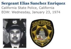 California State Police. Remember the fallen.