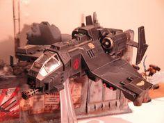 Black-Scorpions Chapter Stormtalon-Avenger Strikefighter.