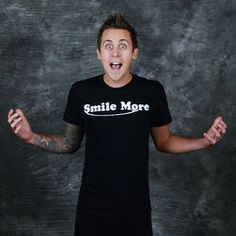 Represent your favorite pranksters by wearing the official Shirt of the Roman Atwood Pranks YouTube channel.