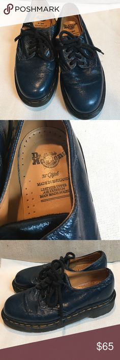 Dr Martens teal blue boots UK 4 US 6 New without box dr martens Shoes Ankle Boots & Booties