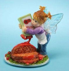 My Little Kitchen Fairies Meatloaf Fairie - http://cutefigurines.net/my-little-kitchen-fairies/my-little-kitchen-fairies-meatloaf-fairie/