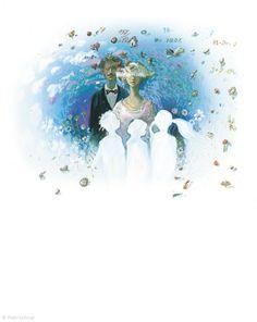 "Peter Uchnár illustration for ""Peter Pan"". Peter Pan, Illustrator, Disney Characters, Fictional Characters, Disney Princess, Art, Art Background, Kunst, Illustrators"