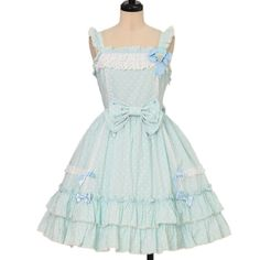 Worldwide shipping available ♪ Angelic Pretty ☆ ·. . · ° ☆ dot sherbet jumper skirt https://www.wunderwelt.jp/en/products/w-17641 IOS application ☆ Alice Holic ☆ release Japanese: https://aliceholic.com/ English: http://en.aliceholic.com/