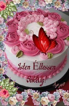 Birthday Wishes Greetings, Birthday Cake, Desserts, Happy Birthday Greetings, Tailgate Desserts, Deserts, Birthday Cakes, Postres, Dessert