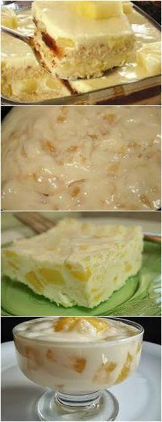 Receita de Pão de Ló de Baunilha | Doces Regionais