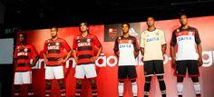 Flamengo lança novos uniformes com superfesta no Rio