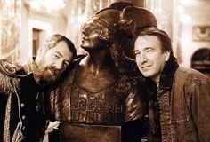 Sir Ian McKellen & Alan Rickman