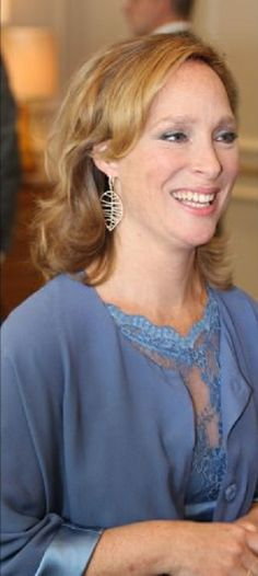 Princess Margarita de Bourbon de Parme at the presentation of her 7 pieces jewelry collection LEAVES in Amsterdam, 03.06.2014