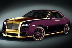 Rolls-Royce Ghost Purple by Fenice Milano