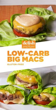 Craving McDonald's big Mac on your keto diet? These Low-Carb Big Mac Are Here To Save The Day and Be a healthy, delicious, and clean eating staple in your lunch or dinner recipes. Mac Recipe, Homemade Recipe, Comida Keto, Vegan Keto, Diet Meal Plans, Keto Meal Plan, Keto Snacks, No Carb Snacks, Keto Desserts