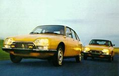 1974 CITROEN GS X ve GS X2 | Ulugöl Otomotiv Citroen sayfası: www.ulugol.com.tr/citroen.aspx