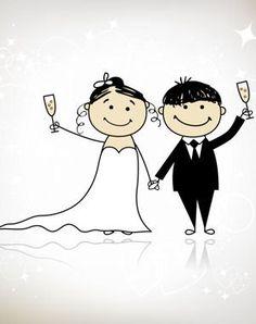 Imprimez quelques planches d'une bande dessinée (sur le thème du mariage) et effacez le contenu des bulles. Disposez-les sur chacune des tables et demandez à vos invités d'écrire les paroles des personnages.  A la fin de la soirée, les mariés désigneront la BD la plus drôle.