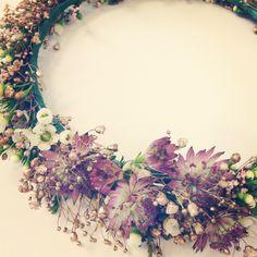Flower Crowns by Living Fresh Flower Studio and School