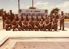 Lubbock Police Academy Class of 1980.