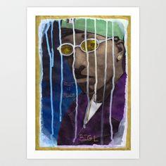 DEAD RAPPERS SERIES - Big L Art Print by Ibbanez - $20.80