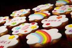 K3 regenboog cupcake