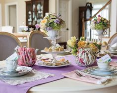 What better way to celebrate life's special events than with afternoon tea? Birthdays, engagements, anniversaries, and retirements of people dear to us call for tea parties, with table settings and delectable fare in keeping with…