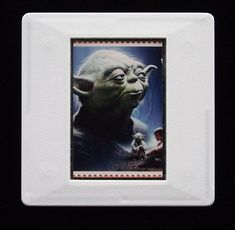 The Royal Mail released a set of special stamps featuring some of the characters, favourite droids, aliens and creatures of the Star Wars films. This 1st class stamp design shows Yoda. Yoda is one of the oldest and most powerful Jedi Masters. He is well known for his distinctive style of speech. Yoda's voice was provided by Frank Oz, best known for his work on The Muppet Show. This unique and handmade brooch is an eye-catching piece, ideal to wear at any Comic Con. Most Powerful Jedi, Frank Oz, True Colors, Colours, The Muppet Show, Star Wars Film, Brooches Handmade, Royal Mail, Design Show